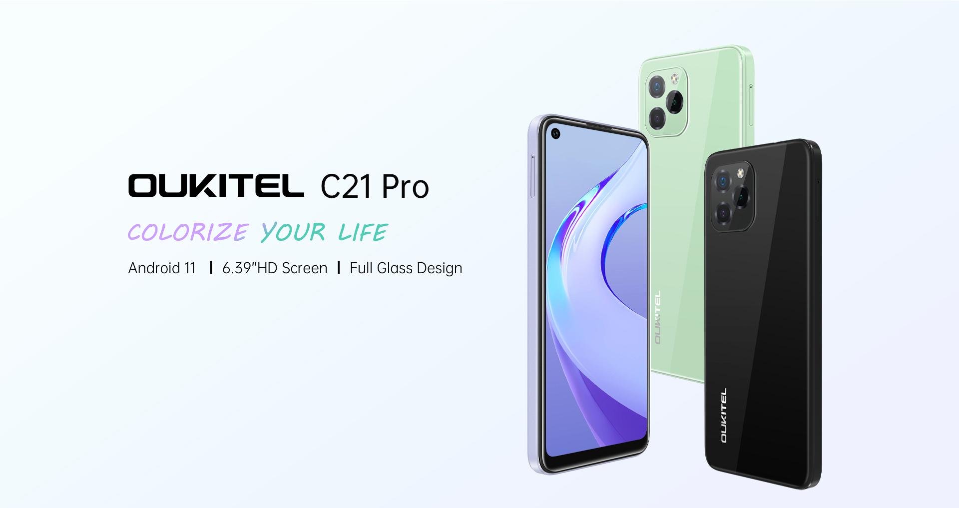 Oukitel C21 Pro Budget Smartphone